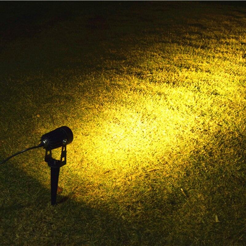lampada para jardim quintal caminho calcada com dois modos 04