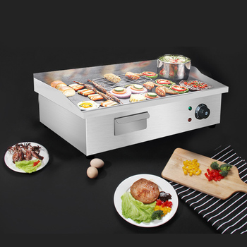 commercial electric nine grid spicy tanger oden cooking machine 1200w convenience store supermarket restaurant snack equipment Electric Griddle Commercial Desktop Fried Steak Noodles Squid Teppanyaki Multifunction Hand Cake Machine Snack Equipment 3000W