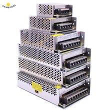 Adaptador de AC110V 220V Led para tira de luces LED, fuente de alimentación para controlador LED 5050, DC 5V 12V 24V 1/2/3/5/10/15/20/30/50A
