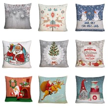 Christmas atmosphere Merry series Grinding cloth Printed by a cushion