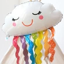 Unicorn Balloon Rainbow-Cloud-Foil-Balloon Party-Decor Cloud-Globos Wedding Kids Birthday