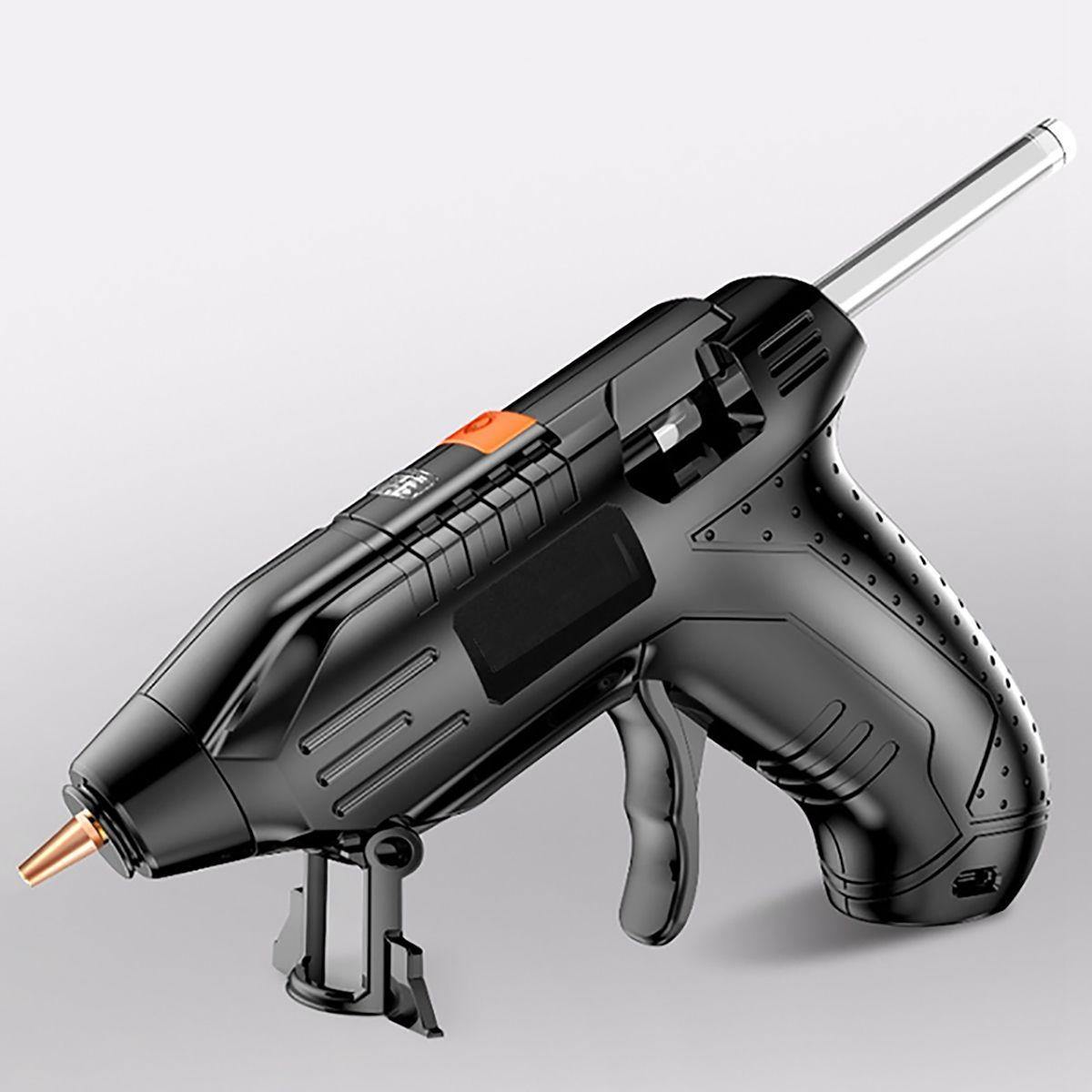 3.6V Cordless Hot Glue-Guns USB Rechargable With 100/40/10 Glue-Sticks Melt Glue-Gun Kits Lithium-ion Wireless Hot Glue Gun Home