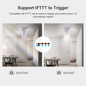 Image 4 - 2/3/4/5pcs SONOFF Slampher R2 Itead 433MHz RF Smart WiFi Light Holder E27 Bulb Holder Interruptor Wifi Switch for Smart Home