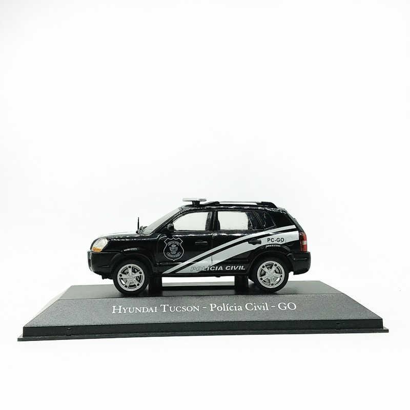 IXO 1//43 Alloy car model Hyundai Tucson police car gift collection