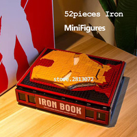 Iron Book Spider Book In Stocks Super Heroe Chess Building Block Brick SY1361 SY1461 Toys DC Movies Avengers 4
