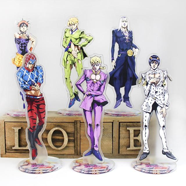 Anime JoJo's Bizarre Adventure Acrylic Stand Model Toys Anime Acrylic Stand Collection Action Figure Toys High Quality DIY Toy 1