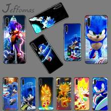 animal game Sonic The Hedgehog Coque Shell Phone Case For Samsung A20 A30 30s A40 A7 2018 J2 J7 prime J4 Plus S5 Note 9 10 Plus(China)