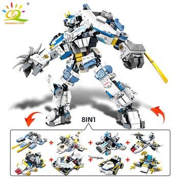 """Конструктор HUIQIBAO """"Робот-трансформер"""", 950 шт., 8 в 1 2"""