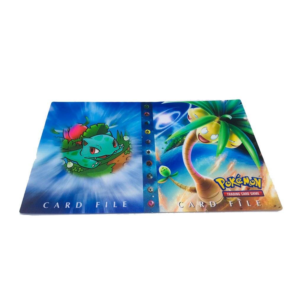 240 шт. держатель Альбом игрушки коллекции Pokemones карты Альбом Книга Топ загруженный список игрушки подарок для детей - Цвет: Album 4  240 holder