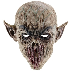 Image 2 - HOT SALE Halloween Bloody Scary Horror Mask Adult Zombie Mask Latex Costume Party Full Head Cosplay Mask Masquerade Props