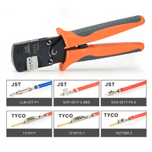 IWS-3220 Micro Connector Pin Crimping Tool 0.03-0.52mm² 32-20AWG Ratcheting Crimper for D-Sub,Open Barrel suits Molex,JST,TYCO-E