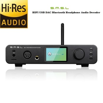 SMSL DP3 USB DAC Hi-Res Balanced Digital Player ES9018Q2C DAC  Bluetooth/WIFI/ DSD Coaxial/Optical Decoder Amplifie AMP