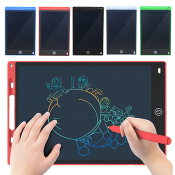 LCD Writing Tablet 8.5/10/12 Inch Electronic Digital Graphics Drawing Board Doodle Pad with Stylus Pen Portable Gift for kids