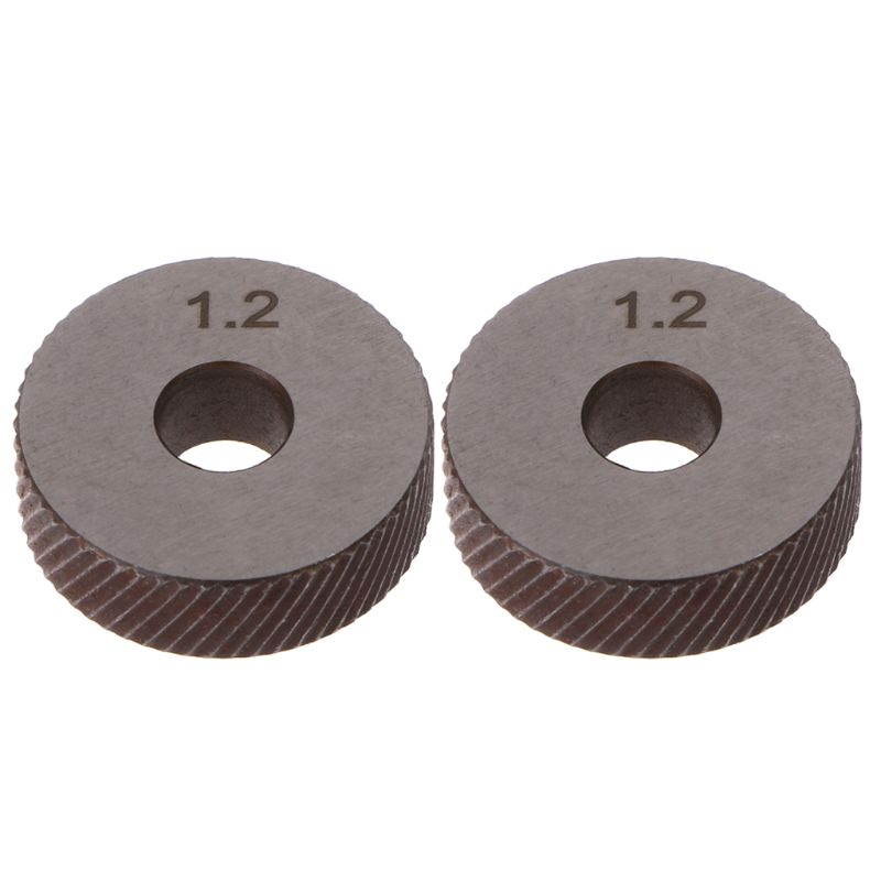 2pcs 1.2mm Diagonal Linear Knurl Wheels Knurling Knurler Tool 1.0/1.2/1.8/3.0mm Pitch