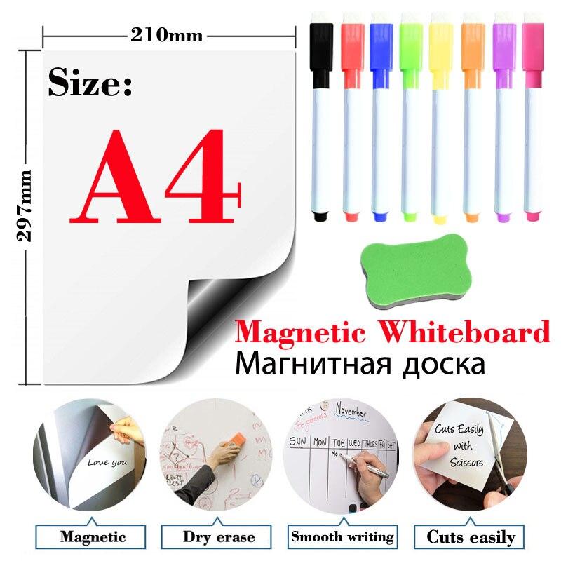 magnetique-doux-tableau-blanc-refrigerateur-autocollants-effacable-memo-babillard-bureau-enseignement-pratique-tableau-d'ecriture-porte-autocollants