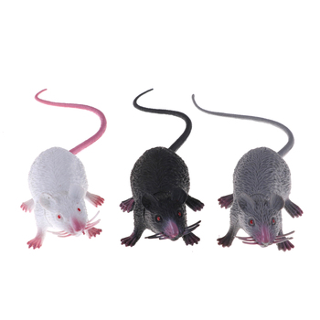 22cm Small Rat Fake Lifelike Mouse Model Prop Halloween Gift Toy Party Decor Practical Jokes Novetly Funny Toys NEW - discount item  30% OFF Novelty & Gag Toys