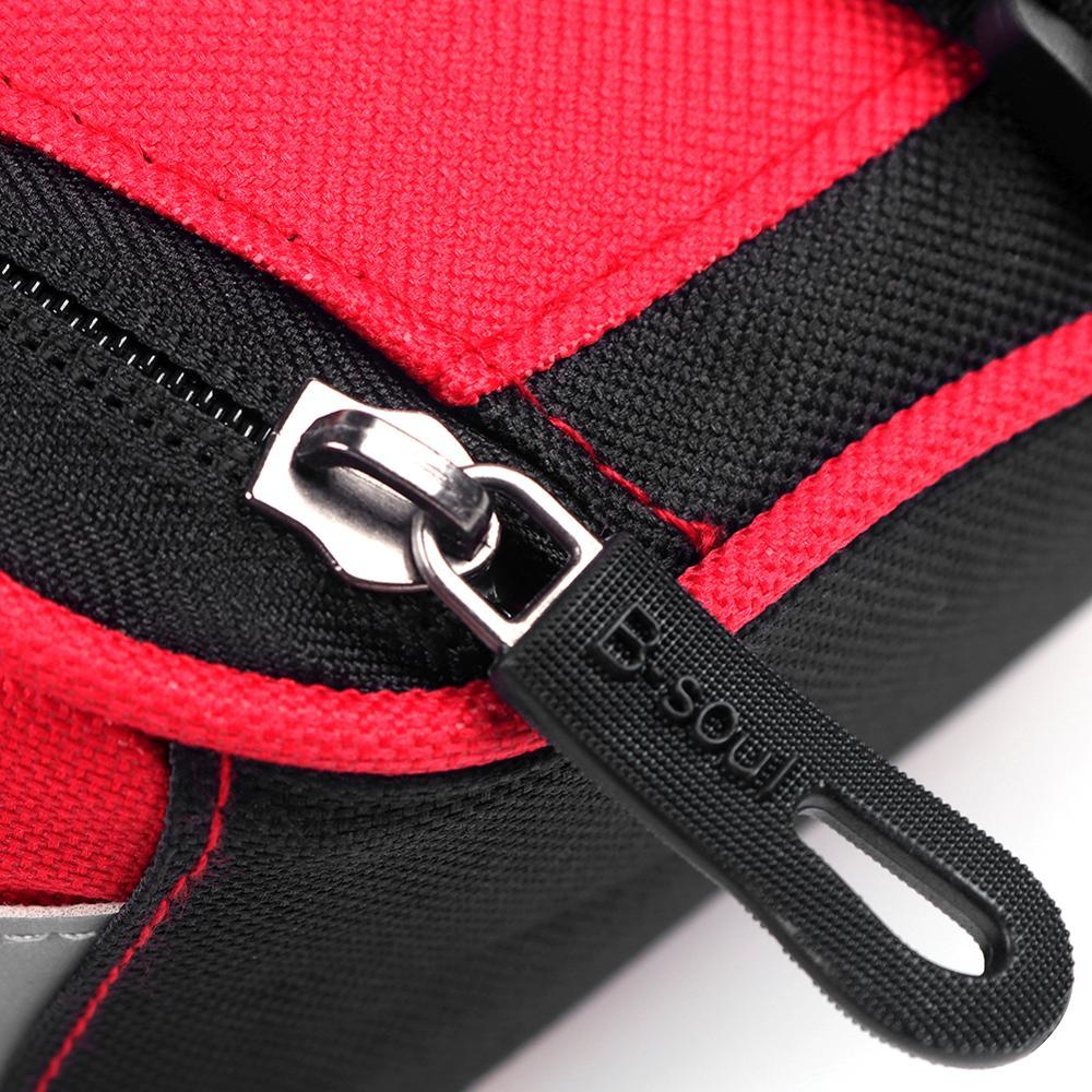 B SOUL Bicycle Tail Bag MTB Rear Saddle Hard Shell Bag Cycling Equipment C#P5