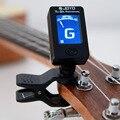 1 шт. ЖК-дисплей гитарный тюнер вращающийся зажим-на гитарный тюнер струнные аксессуары для музыкальных инструментов