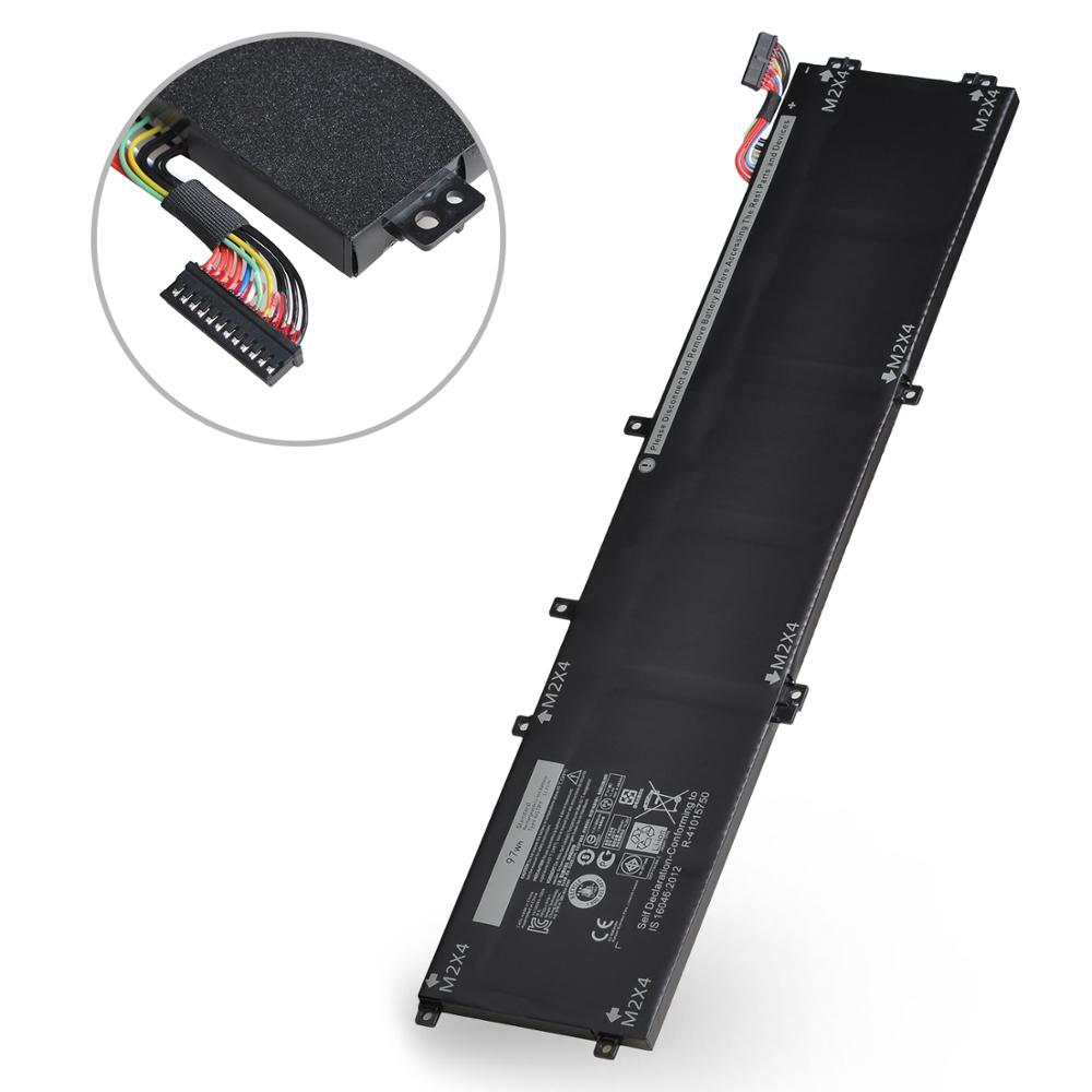 New 11.4V 97WH Laptop Battery 6GTPY for <font><b>Dell</b></font> 5510 <font><b>XPS</b></font> 15 <font><b>9550</b></font> 9560 5XJ28 Precision 5510 5520 M5510 M5520 Series image