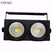 2eyes 2x100w LED COB Light DMX Stage Lighting Effect Led Blinder Light ,Cool White and Warm White стоимость