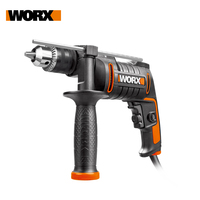 WORX 600W Electric Drill WX317.2 Impact Drill Screwdriver Home DIY Perforator Power tools +injection Tool box/Case Free Shipping