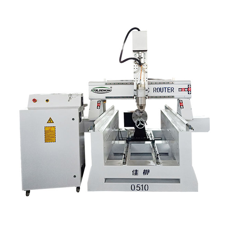 4 Axis Rotary Wood Carving Cnc Router Cnc Woodworking Machine With Rotary Device