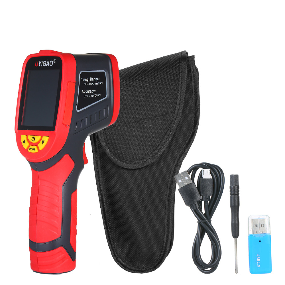 Digital Mini Infrared Thermal Camera Made With ABS Material For Measuring Tools 8