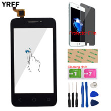 Touch Screen Panel Für Alcatel One Touch Pixi 3 4013D 4013 OT4013 Touchscreen Digitizer Sensor Front Glas Werkzeuge Protector film(China)