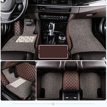 Custom car floor mats for Lexus All Models ES IS LS RX NX GX GTH GS LX car styling car accessories Custom foot Pads Car carpet(China)