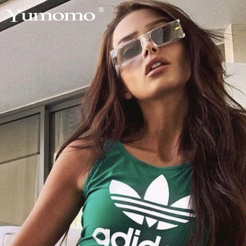 2019 Women Glasses Luxury Vintage Designer Square Frame Sunglasses Women High Quality Clear Frame Unique Eyewear UV400