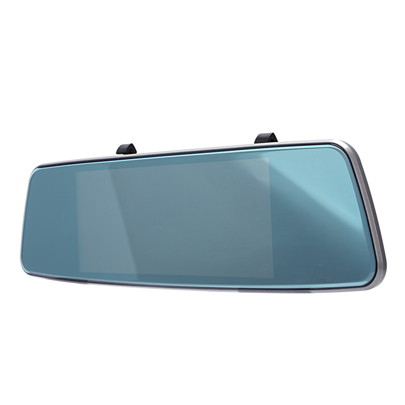 7 pouces professionnel 1080P voiture Dvr Gps voiture rétroviseur moniteur caméra inverse véhicule conduite enregistreur