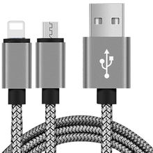 USB Fast Charger Cable Nylon Braided Charger Cord For iphone 6 6S 7 8 Plus XR X XS MAX For Xiaomi Huawei Samsung Smart phone(China)