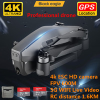 2020 neue upgrade D4 GPS Drone mit 5G WiFi FPV 4K Dual Kamera Profesional Bürstenlosen RC Quadcopter 1,6 KM Eders VS SG906 F11 F4