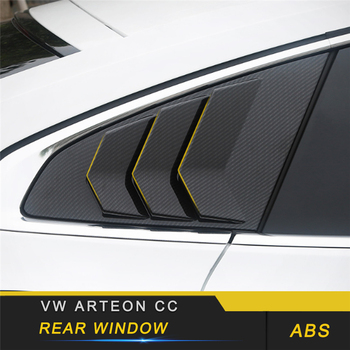For VW Volkswagen Arteon 2019 Car Styling Rear Gate Door Window Decoration Cover Trim Sticker Frame Exterior Accessory