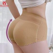 Guudia mulheres sem costura butt hip enhancer shaper calcinha underwear acolchoado bumbum levantador shapewear barriga controle calcinha