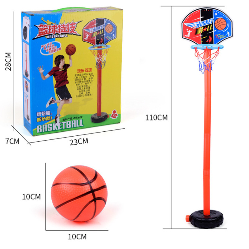 Детский баскетбольный комплект, регулируемая корзина, Спортивная Корзина для игр на открытом воздухе