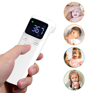 Image 4 - Non contacting IR Infrared Sensor Forehead Body Thermometer Temperature Measurement LCD Digital Display  for Baby Kids Adults