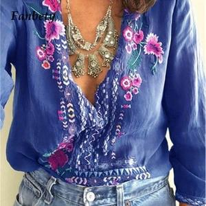 Fanbety Women Embroidery Bohem