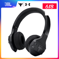 Under Armour JBL UA TRAIN ROCK IPX4 SweatProof Bluetooth Wireless Headphones HiFi Fever Sport Flat Fold Earphone with Microphone