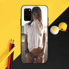 PENGHUWAN مثير فتاة الساخن بيكيني الحمار الكبير لينة سيليكون غطاء هاتف من البولي يوريثان لسامسونج S20 زائد الترا S6 S7 حافة S8 S9 زائد S10 5G