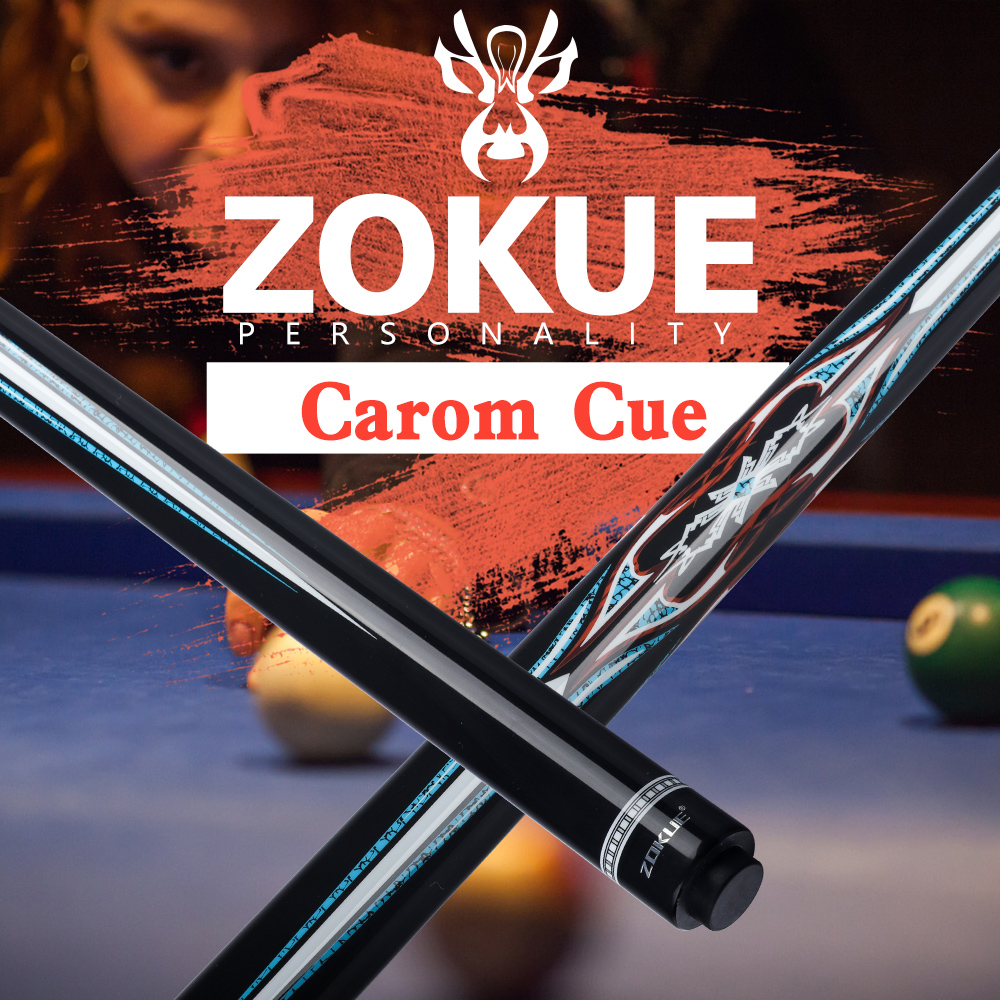 ZOKUE Carom Billiard Cue Korea 3 Cushion Cue Carom Cue Taper 12mm 142 Cm 당구 Free Shipping Professional Stick Fit Extension