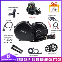Bafang 8fun BBS02B 36V 500W MM G340.500 Electric Bike Mid Drive Motor Conversion Kits For Bicycle Engine Kit BBS02