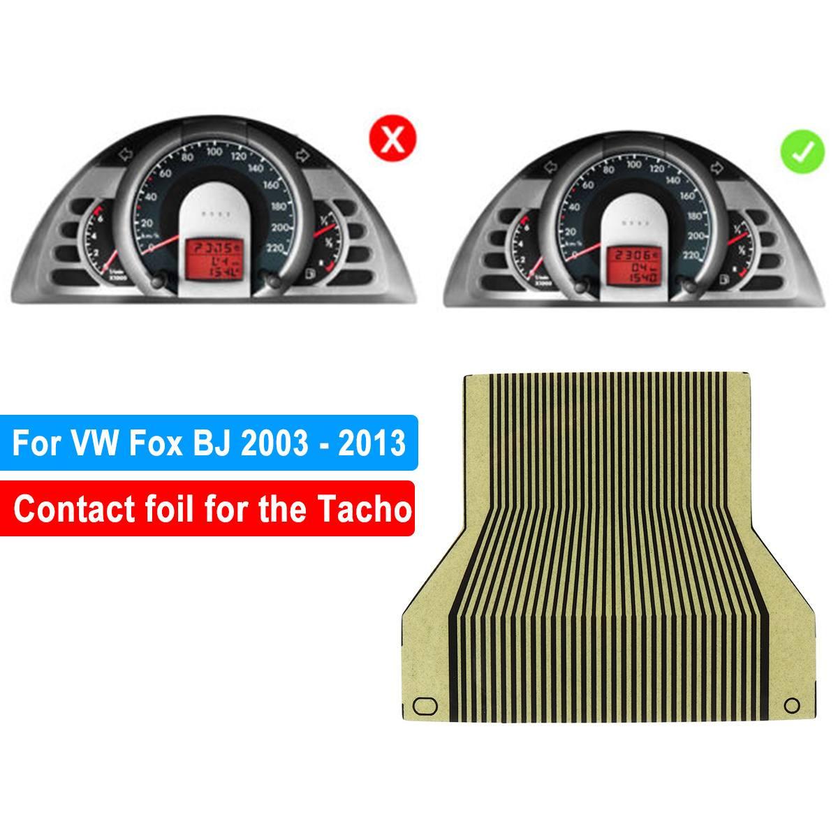 LCD Display Cluster Pixel Repair Ribbon Cable Tool For VW For FOX Tacho LCD Display Ribbon Cable Speedometer