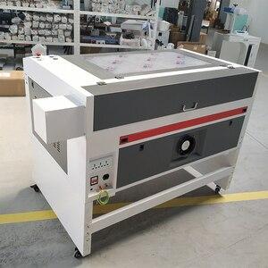 Image 2 - Лазерная гравировка 600*400 мм 80 Вт 220 В/110 В Co2 машина для лазерной гравировки и резки DIY Лазерный Резак маркировочная машина, резьба машина