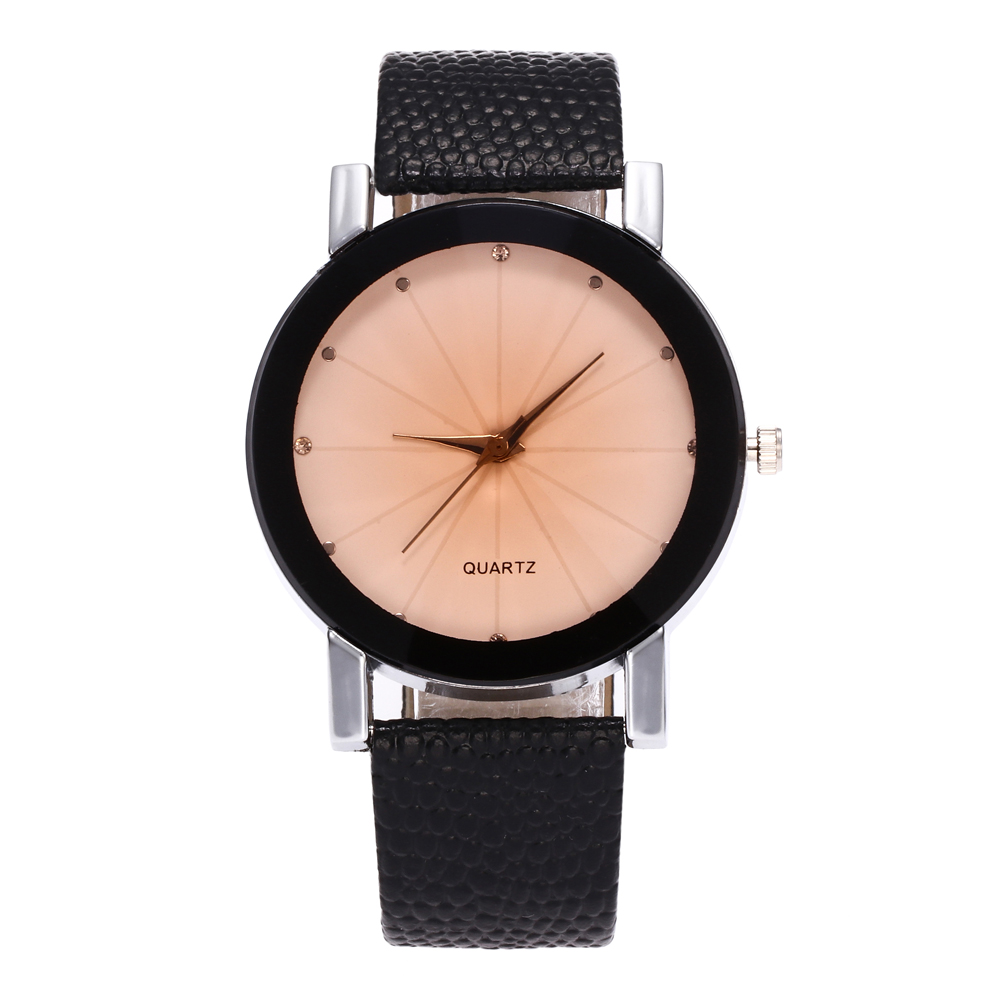 Women Quartz Watches Relogio Masculinos Fashion Dial Time Men Clock Leather Dress Lovers Watch Couple Watches Gifts For Women