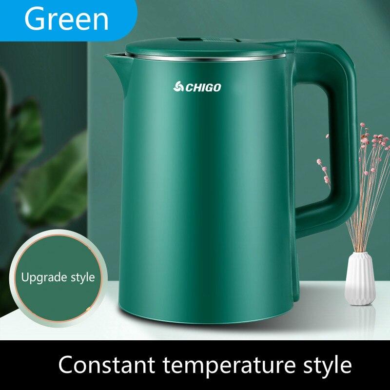 Чайник бытовой со встроенным термостатом, автоматическое отключение и сохранение тепла, Электрический чайник