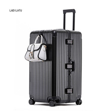 PC Hard Version  Luggage trunk  Thickened 28-Inch 30-Inch 32-Inch Universal Wheel Trolley Case Plastic Travel Consignment