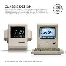 Nuevo 2019 soporte W3 blanco Vintage para Apple Monitor compatible con la administración de cables de modo de mesa de noche para Apple Watch Series 1 2 3