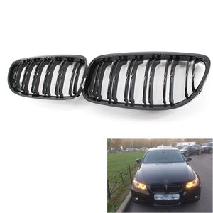 2PCS Car Front Grille Gloss Black Inlet Grill for BMW 3 Series E90 E91 318 320i 325i 330i 09-11 Accessories