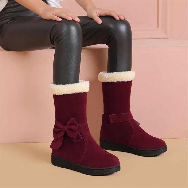 FEDONAS 2020 kadın sonbahar kış kar botları daireler topuklar orta buzağı çizmeler kadın ucuz yüksek çizmeler rahat ayakkabılar kadın